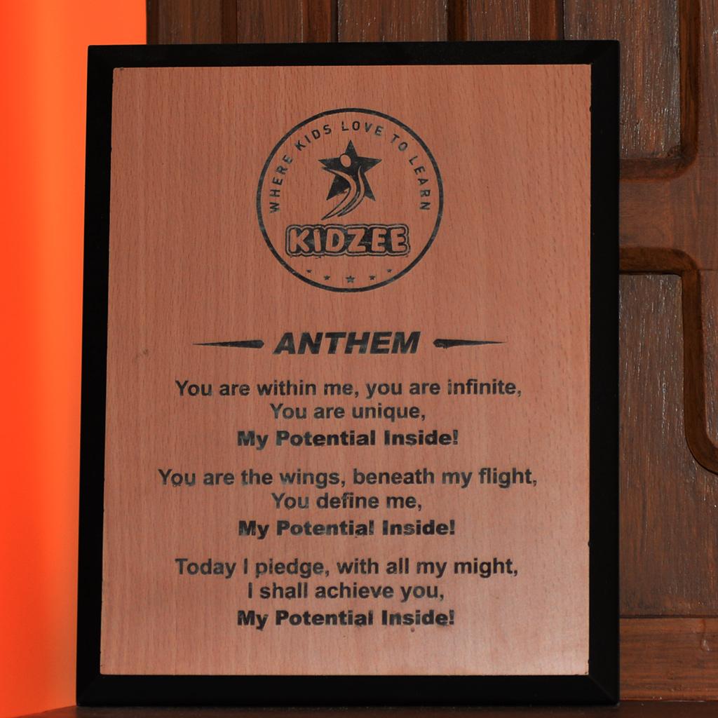 Kidzee Anthem